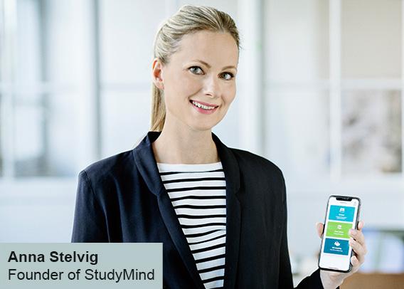 Founder Anna Stelvig StudyMind